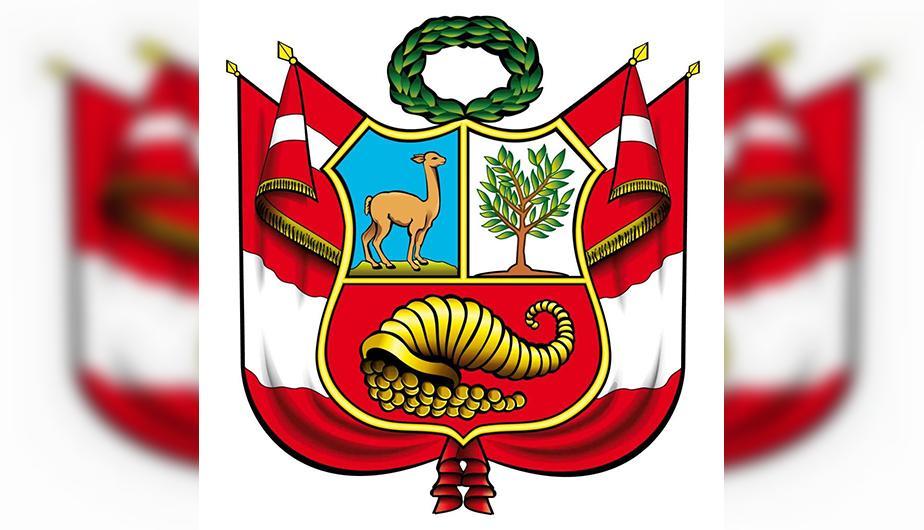 vicuña en el escudo de peru
